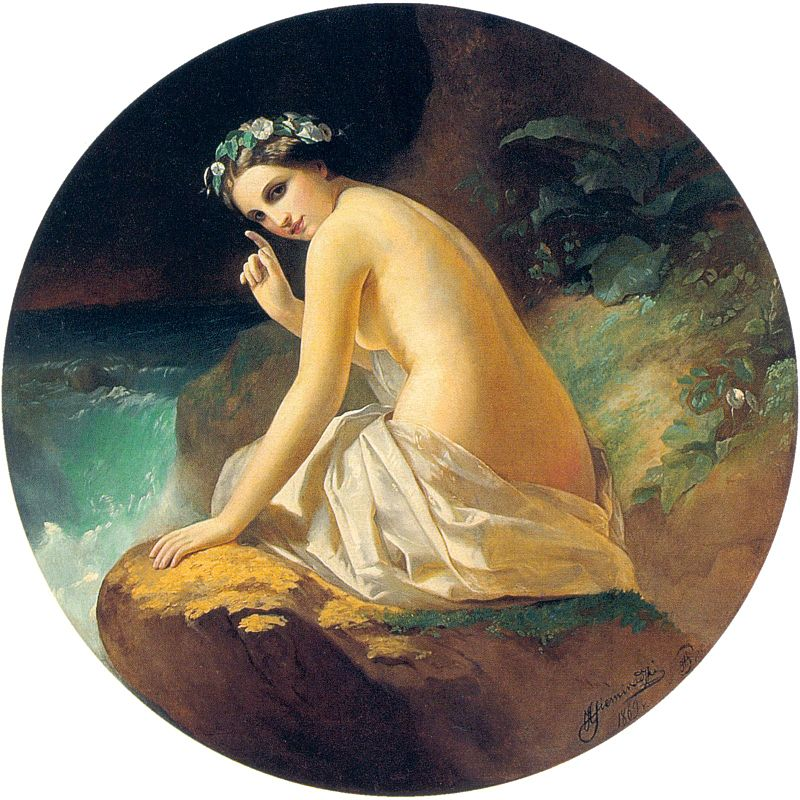Nimfy w mitologii greckiej