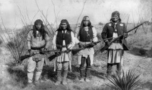 Męskie imiona plemienia Apaczów
